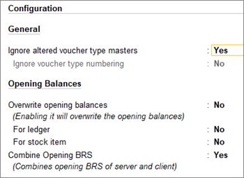 Receive Master Data Server